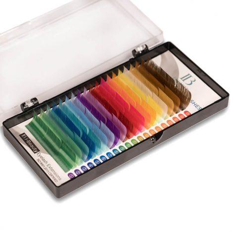 rzęsy kolorowe