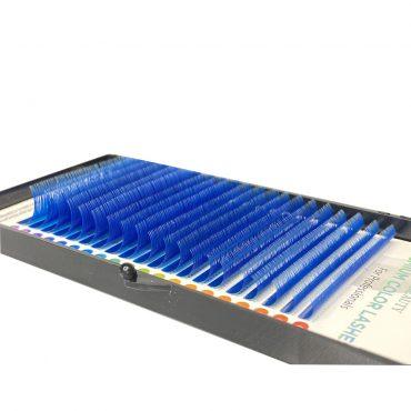 niebieskie I-Beauty rzęsy kolorowe